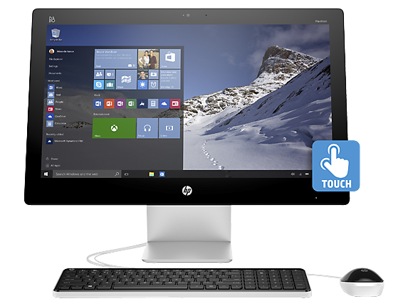 HP Pavilion - 27qe Touch All-in-One PC