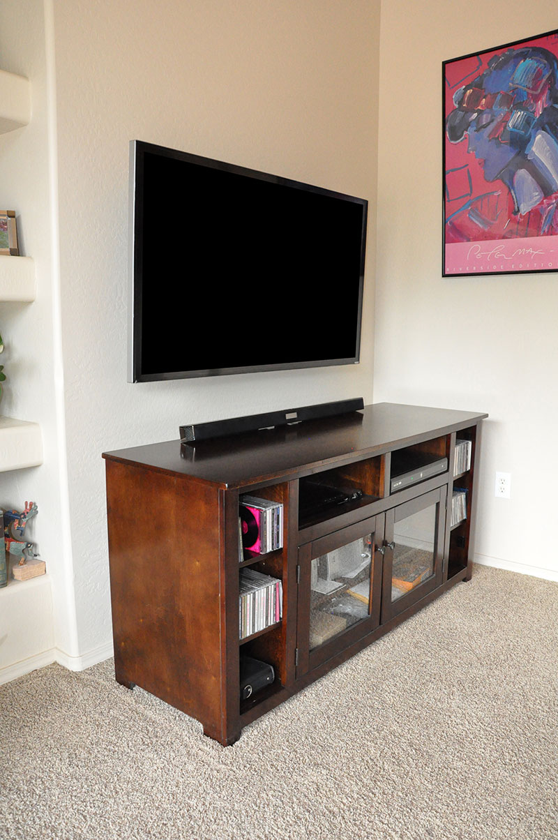 TV Mounting and Soundbar