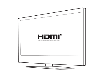 An HDTV with HDMI®