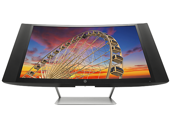 HP Pavilion 27c 27-inch Curved Display
