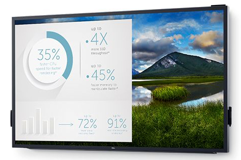 Dell 86 4K Interactive Touch Monitor: C8618